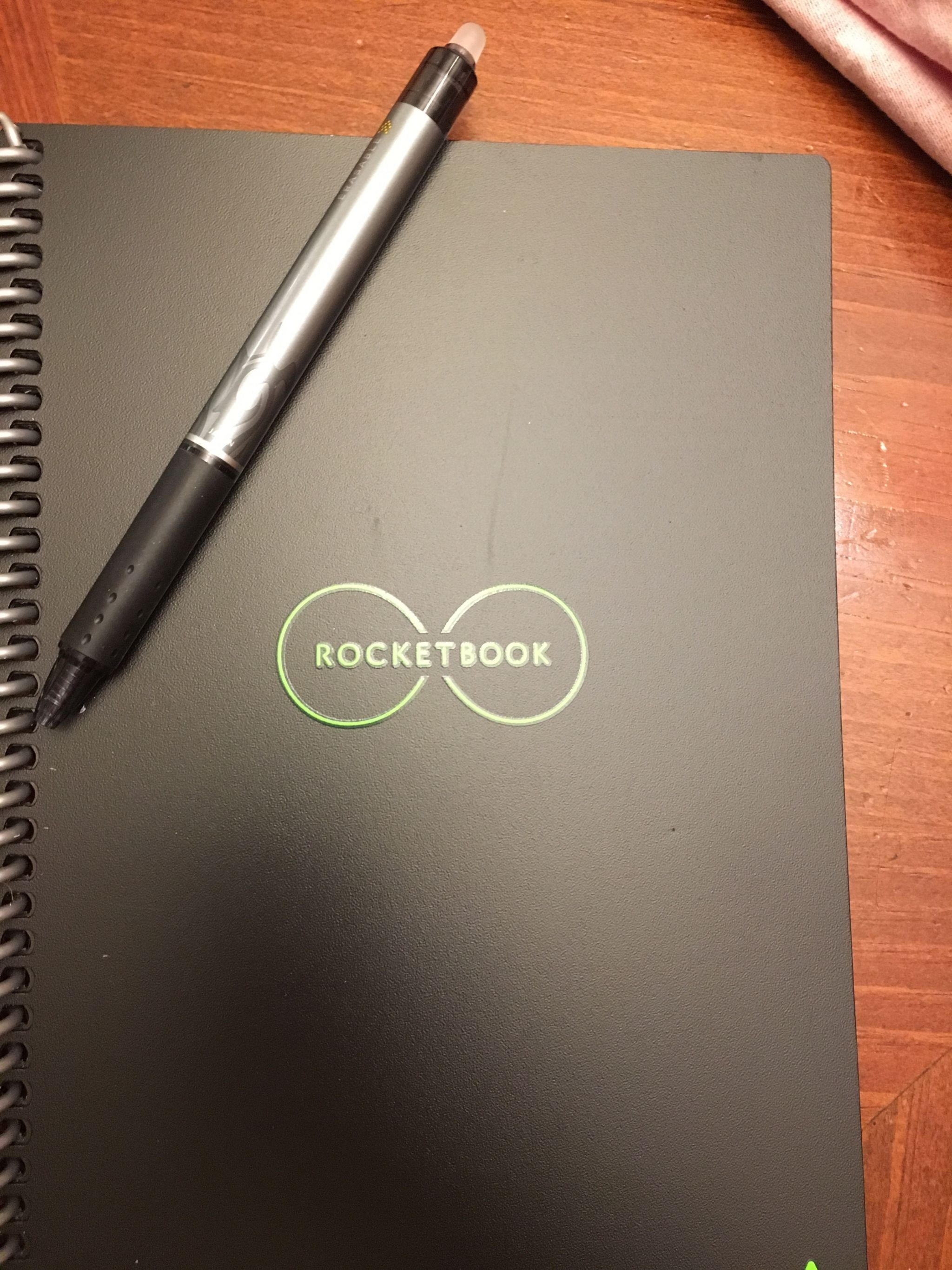 Planning our travel for 2019 with Rocketbook